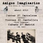 El concierto de AMIGOS IMAGINARIOS en El Sol a tu disposición