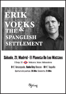 Cartel ERIK VOEKS Madrid