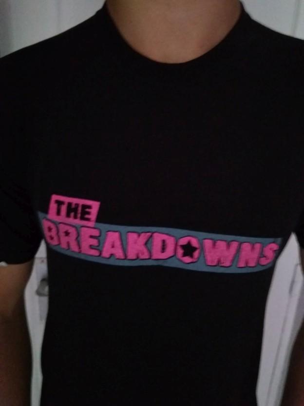 THE BREAKDOWNS - Camiseta Hombre