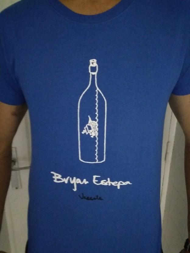 BRYAN ESTEPA: VESSELS - Camiseta Hombre