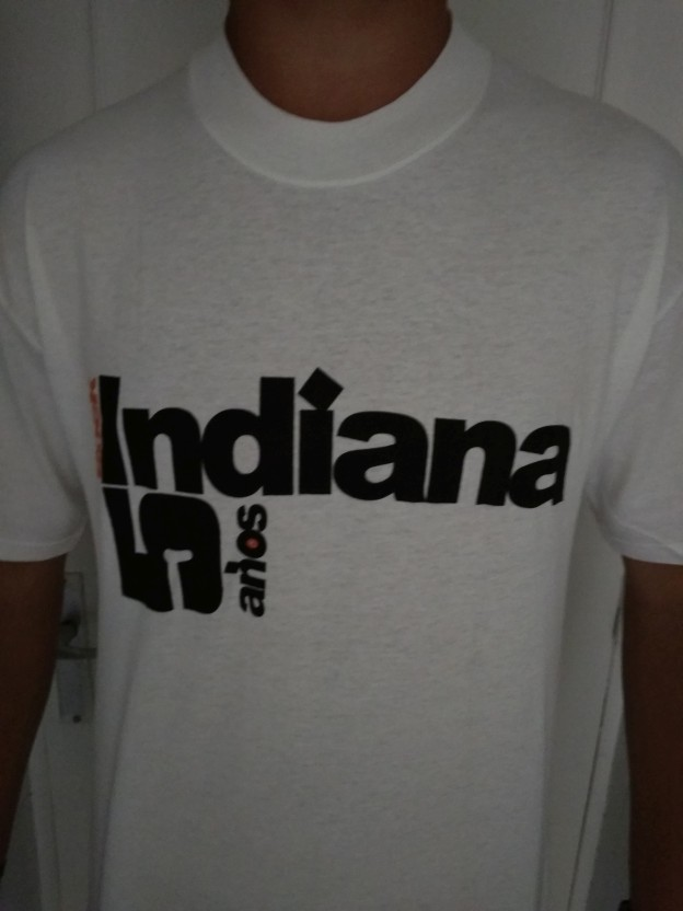 ROCK INDIANA 5º Aniversario - Camiseta Hombre
