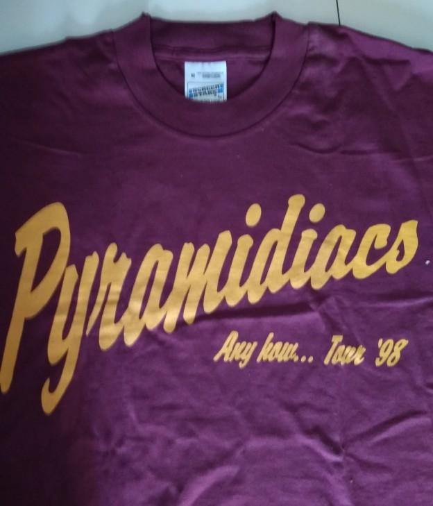 PYRAMIDIACS - Camiseta Hombre
