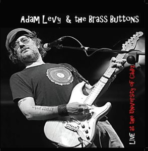 Adam Levy & The Brass Buttons - 'Live at the University of Cádiz' (CD)